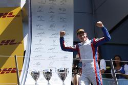 Race winner Emil Bernstorff
