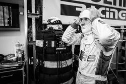 Markus Winkelhock se prépare pour son dernier relais