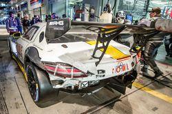 Arrêt au stand - #23 Rowe Racing Mercedes-Benz SLS AMG GT3: Klaus Graf, Jan Seyffarth, Thomas Jäger,
