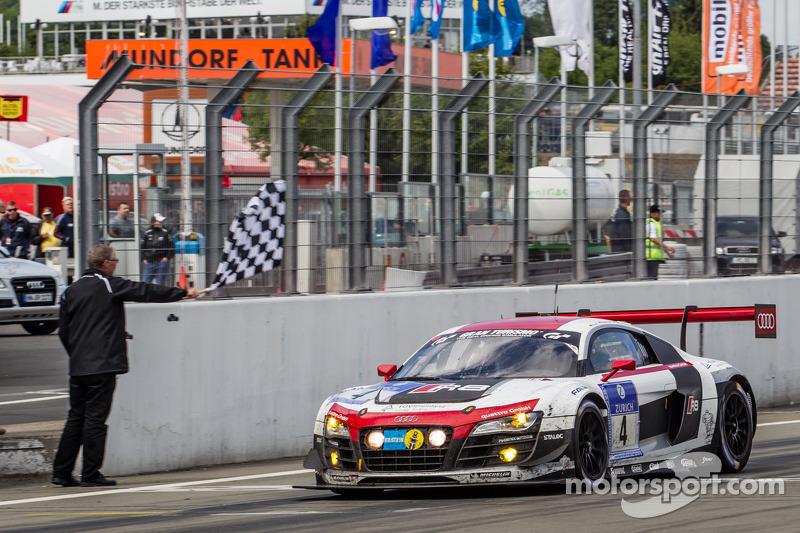 2014: Christopher Haase, Christian Mamerow, René Rast, Markus Winkelhock (Audi R8 LMS ultra)