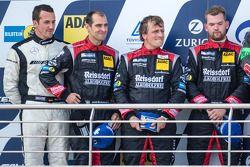 领奖台: 第二名 Lance David Arnold, Jeroen Bleekemolen, Andreas Simonsen, Christian Menzel