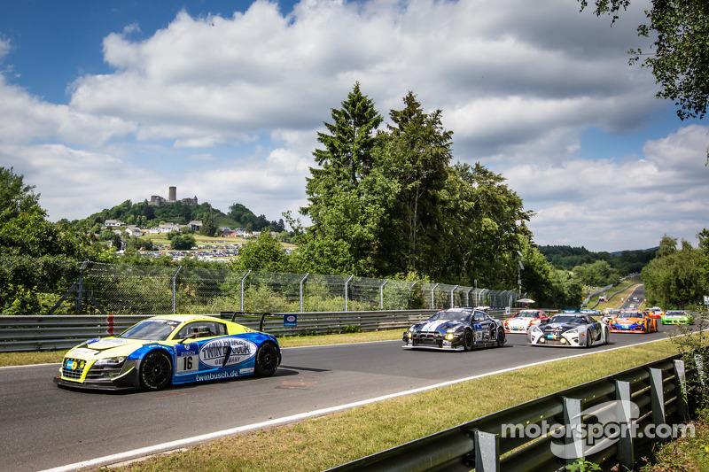 Via: #16 Twin Busch Motorsport Audi R8 LMS ultra: Dennis Busch, Marc Busch, Manuel Lauck, Stefan Landmann