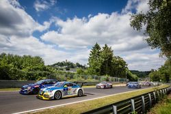 Start: #120 LMS Engineering Audi TT RS: Daniela Schmid, Christopher Tiger, Roland Botor, Constantin