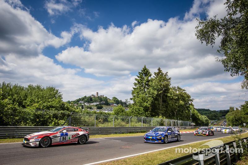 Via: #94 Mathol Racing Aston Martin Vantage V8 GT4: Wolfgang Weber, Norbert Bermes