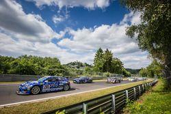 Start: #205 Mathilda Racing Volkswagen Scirocco GT-24: Michael Paatz, Klaus Niedzwiedz, Johannes Stu