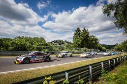 Largada: #111 Raeder Motorsport Audi TT RS 2.0: Elmar Deegener, Jürgen Wohlfarth, Christoph Breuer,