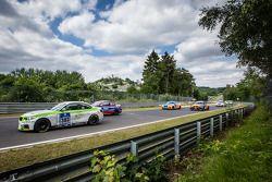 Start: #303 BMW M235i Racing: Henri Österlund, Markku Honkanen, Christer Lybäck, Matias Henkola
