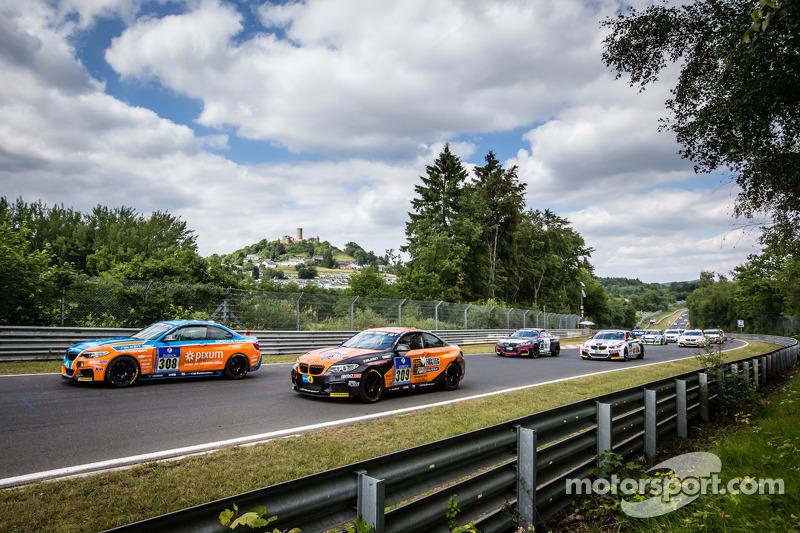 Start: #308 Adrenalin Motorsport BMW M235i Racing: Daniel Zils, Norbert Fischer, Uwe Ebertz, Timo Sc