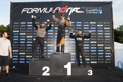 Winner Fredric Aasbo, second place Chris Forsberg, third place Aurimas Bakchis