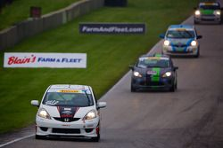 #12 Drive4Diabetes/Garrett Racing Honda Fit: Chase Pelletier