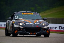 #11 Eastex Motorsports Mazda MX-5: Adam Poland