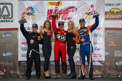 Podium GTS : Jack Roush Jr., Nic Jonsson, Tony Buffomante