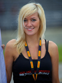 JCR Motorsports Flag Girl