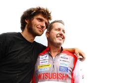 Guy Martin e Greg Tracy