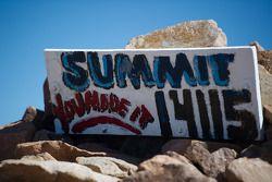 La cima a Pikes Peak