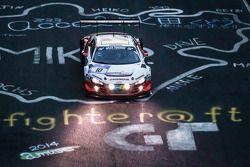 #10 Abt Racing Audi R8 LMS ultra: Christopher Mies, Christer Jöns, Niclas Kentenich, Dominik Schwage