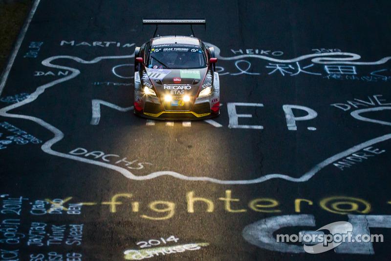 #111 Raeder Motorsport 奥迪 TT RS 2.0: Elmar Deegener, Jürgen Wohlfarth, Christoph Breuer, Dieter Schm