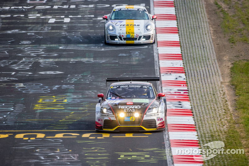 #111 Raeder Motorsport Audi TT RS 2.0: Elmar Deegener, Jürgen Wohlfarth, Christoph Breuer, Dieter Schmidtmann