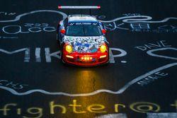 #62 Teichmann Racing Porsche 911 GT3 Cup: Alex Autumn, Kris Cools