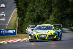 #16 Twin Busch Motorsport Audi R8 LMS ultra: Dennis Busch, Marc Busch, Manuel Lauck, Stefan Landmann
