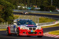 #78 Hofor Racing BMW M3 GTR: Martin Kroll, Chantal Kroll, Michael Kroll, Roland Eggimann