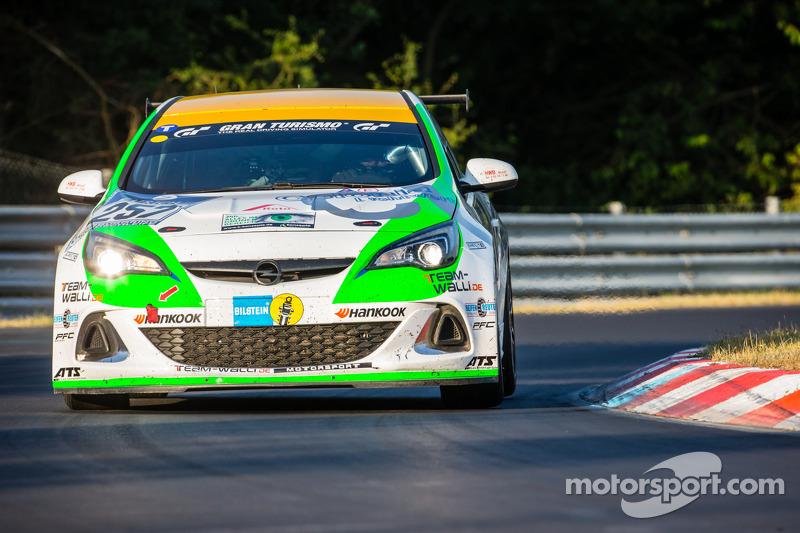 #257 DMC Dürener Motorsport Opel Astra OPC Cup: Benjamin Weidner, Dietmar Henke, Stefan Michels, Jörg Walkowski