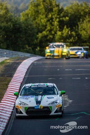 #200 Dörr Motorsport Toyota TMG GT86 Cup: Hans-Martin Gass, Heiko Hahn, Roland Konrad, Kristian Vett