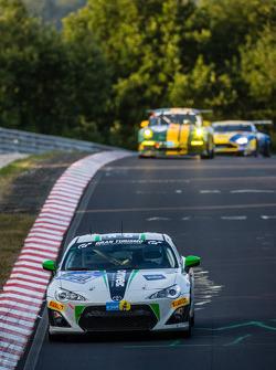 #200 Dörr Motorsport Toyota TMG GT86 Cup: Hans-Martin Gass, Heiko Hahn, Roland Konrad, Kristian Vetter