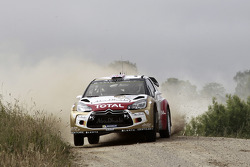 Kris Meeke et Paul Nagle, Citroën DS3 WRC, Citroën Total Abu Dhabi World Rally Team