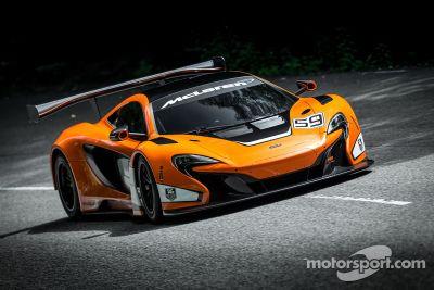 McLaren 650s GT3 tanıtımı