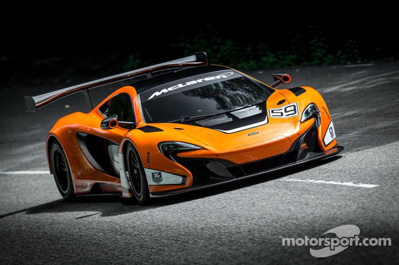 De McLaren 650s GT3