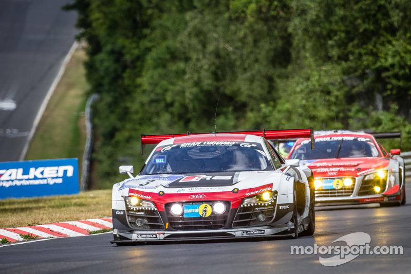 #3 Phoenix Racing 奥迪 R8 LMS ultra: 马克·巴桑, 马塞尔·法斯勒, 弗兰克·斯提皮勒, 劳伦·范瑟尔