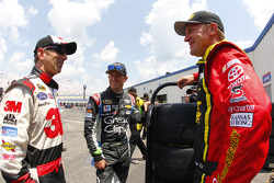 Greg Biffle, Kasey Kahne and Clint Bowyer