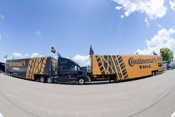 Caminhões da Continental Tire