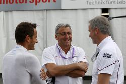 Timo Scheider, Audi Sport Team Phoenix Audi RS 5 DTM, Ernst Moser, Audi Team Phoenix, Jens Marquardt
