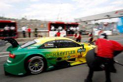 Pitstop, Mike Rockenfeller, Audi Sport Takımı Phoenix Audi RS 5 DTM