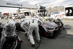 Pitstop, Joey Hand, BMW Team RBM BMW M4 DTM