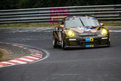 #33 Kurt Ecke Motorsport Porsche 997 GT3 Cup: Peter König, Andreas Sczepansky, Steffen Schlichenmeie
