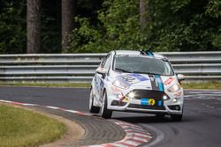#132 Lanza Motorsport Ford Fiesta ST: Simona Barin, Roberto Barin, Mauro Simoncini