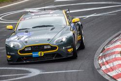 #70 Aston Martin Test Centre Aston Martin Vantage V8: Ulrich Bez, Wolfgang Schuhbauer, Mal Rose, Peter Leemhuis