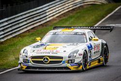 #23 Rowe Racing Mercedes-Benz SLS AMG GT3: Klaus Graf, Jan Seyffarth, Thomas Jäger, Richard Göransson