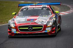 #31 Car Collection Motorsport Mercedes-Benz SLS AMG GT3: Peter Schmidt, Christian Bracke, Heinz Schm