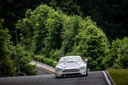 #89 Aston Martin Vantage V8 GT4: Dmitriy Lukovnikov, Andrei Sidorenko, Michael Czyborra, Michael Hei