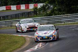 #201 MSC-Rhön e.V.i ADAC Toyota TMG GT86 Cup: Reiner Bardenheuer, Alexander Kudrass, Florian Wolf, C