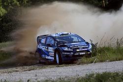 Mikko Hirvonen y Jarmo Lehtinen, M-Sport Ford Fiesta WRC