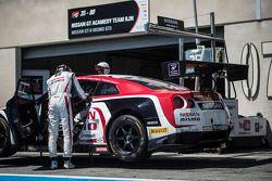 #35 Nissan GT Academy Team RJN Nissan GT-R Nismo GT3: Stanislav Aksenov, Miguel Faisca, Katsumasa Ch