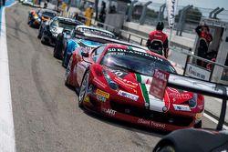 #50 AF Corse Ferrari 458 Italia: Andrew Danyliw, Simon Knap, Andrea Sonvico