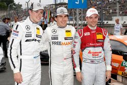 Pole sahibi Robert Wickens, ikinci sıra Paul di Resta, üçüncü sıra Jamie Green