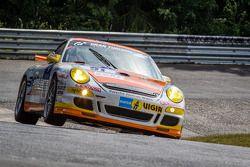 #91 Prosport Performance Porsche 997 GT3 Cup: Heinz-Josef Bermes, Dominik Schöning, Bora Bölck, Thomas Koll