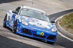 #170 Mathol Racing Porsche Cayman R: Dag Wohlen, Tommy Graberg, Hans Holmund, Scott Marshall